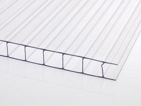 Polycarbonat Stegplatten 4 mm und 6 mm