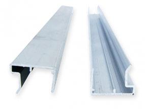 Alu-Kantenschutz für Stegplatten