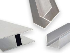 Alu-Profile für Stegplatten