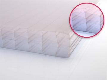 Polycarbonat Hohlkammerplatte 32 mm, Breite: 980 mm, Längen: 1000 - 7000 mm, Farbe: opal-weiß