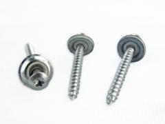 Spenglerschrauben mit Dichtscheibe ø 15mm, 4,5 x 45 mm