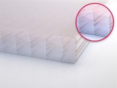 Polycarbonat Hohlkammerplate 32 mm, Breiten: 1250 mm, Längen: 1000 - 7000 mm, Farbe: opal-weiß
