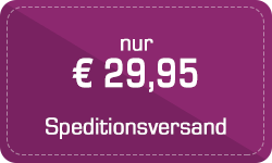 Speditionsversand: nur € 29,95