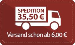 ab € 800 versandkostenfrei