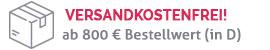 Versandkostenfrei ab 800 €